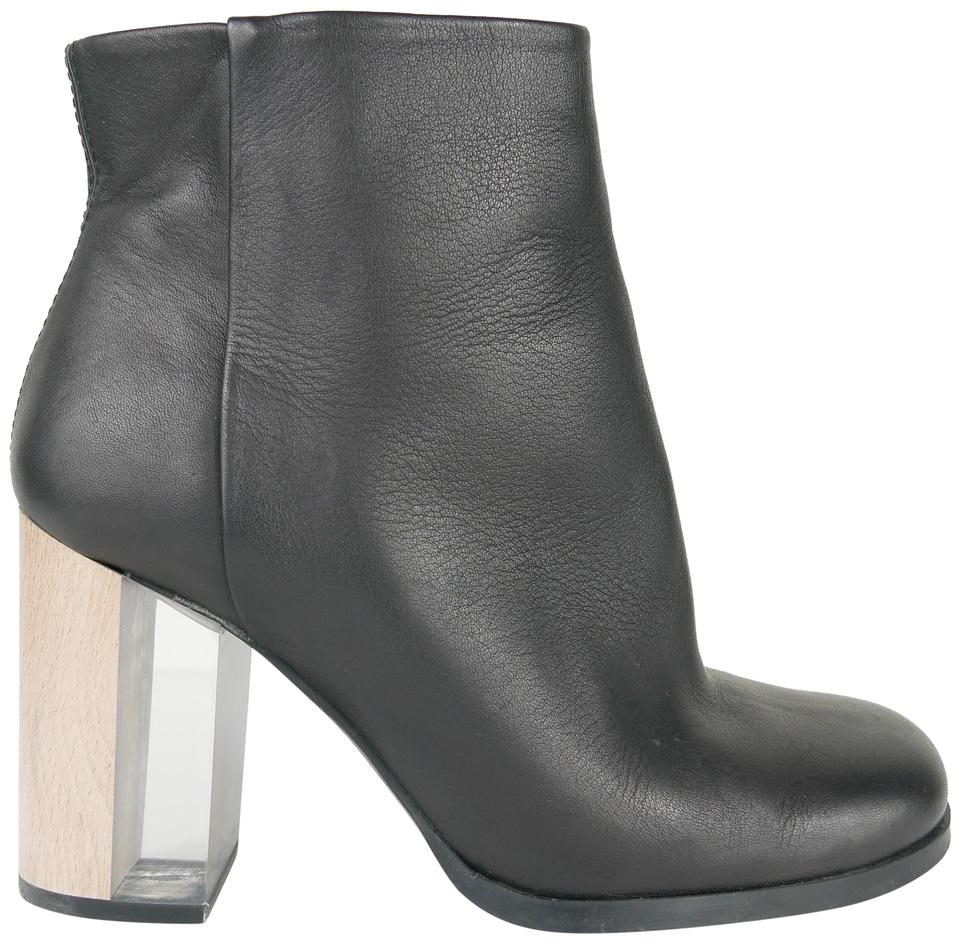 99fb8deb124 Miista Wood and Clear Heels Boots/Booties Size EU 36 (Approx. US 6) Regular  (M, B) 61% off retail