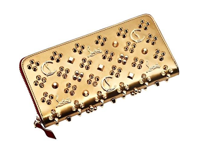 Item - Gold Panettone Studded Wallet