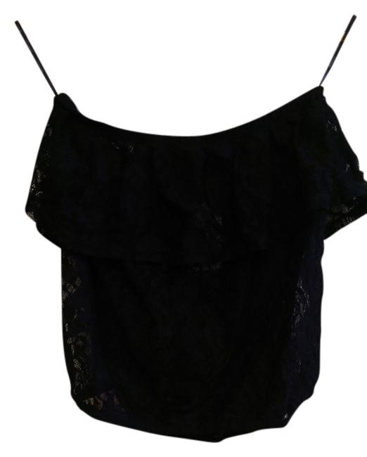 Forever 21 Lace Top black