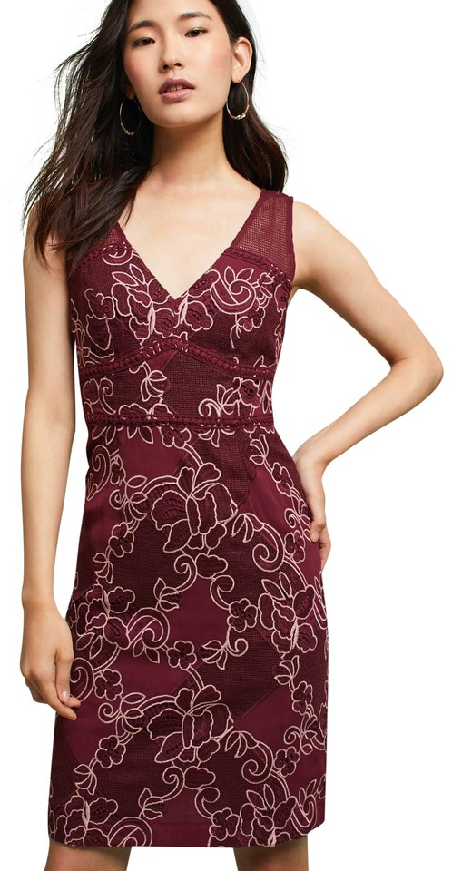 859fa53869b5 Anthropologie Ariana Lace Column By Moulinette Soeurs Short Cocktail ...