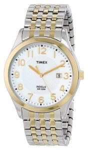 Timex Timex Male Elevated Classics Watch T2P202 Two Tone Analog