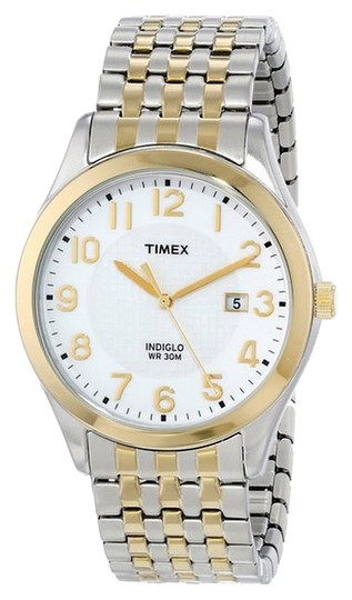 Preload https://item4.tradesy.com/images/timex-timex-male-elevated-classics-watch-t2p202-two-tone-analog-2368333-0-0.jpg?width=440&height=440