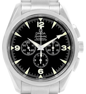 Omega Omega Aqua Terra Railmaster Steel Mens Chronograph Watch 2512.52.00