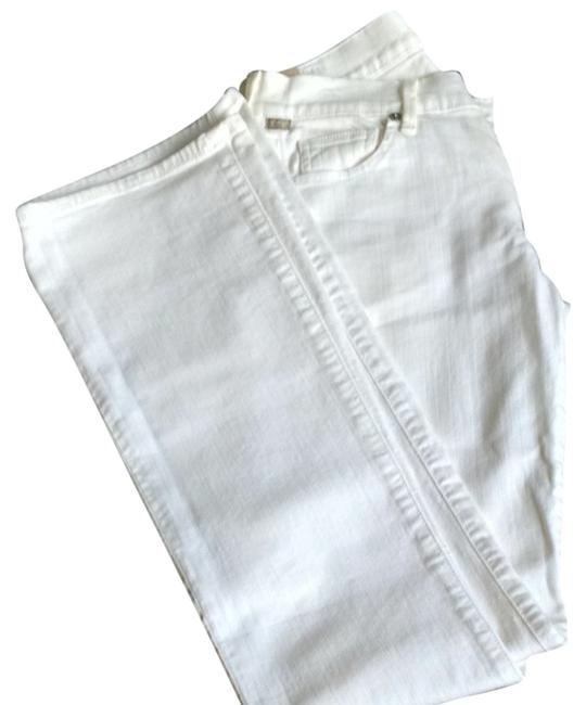 Item - White Amber Medium Rise Boot Cut Jeans Size 27 (4, S)