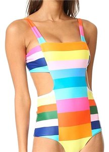 Mara Hoffman Mara Hoffman multicolor cutout side swimsuit