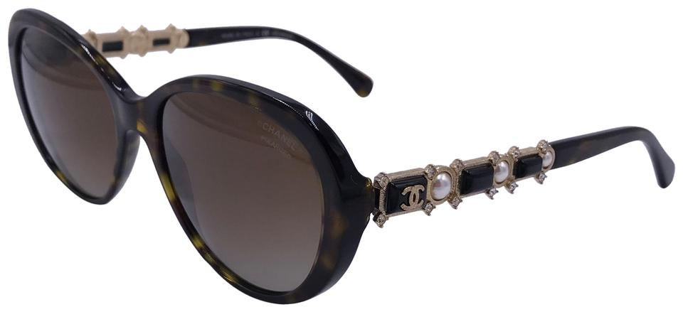 9c91584e1183 Chanel Bijou LIMITED EDITION PearlS/ CRYSTALS Polarized 5337HB C.714/S9 T69  Image ...
