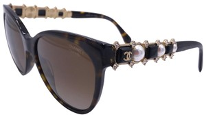 Chanel CHANEL CAT EYE BIJOU LIMITED 5336HB C.714/S9 CRYSTALS PEARL POLARIZED