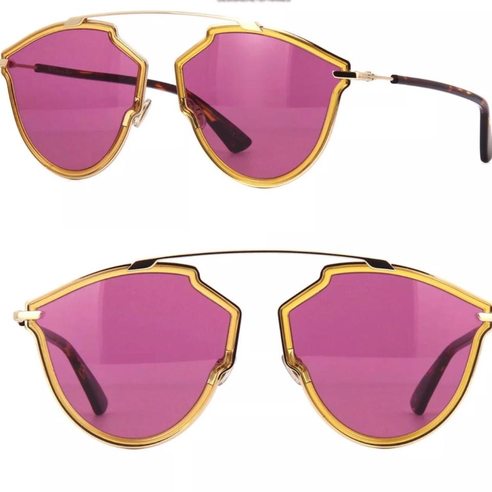 fc38777c19aa8 Dior Pink Yellow Havana So Real Sunglasses - Tradesy