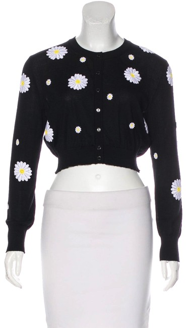 Item - Multicolor Embroidered Daisy Cardigan Size 6 (S)