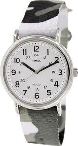 Timex Timex Male Weekender Watch T2P366 Silver Analog