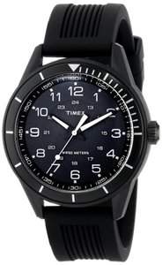 Timex Timex Male Elevated Classics Watch T2P383 Black Analog