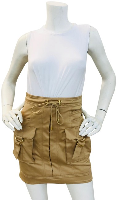 Item - Tan Jupe Cargo-pocket Skirt Size 6 (S, 28)