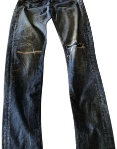 AG Adriano Goldschmied Skinny Jeans-Distressed