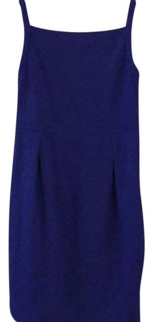 Item - Royal Blue No Mid-length Work/Office Dress Size 6 (S)