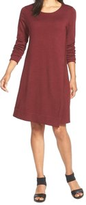 Eileen Fisher short dress Passion Flower on Tradesy