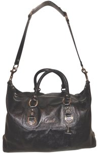 Coach Extra-large Black Leather Convertible Excellent Condition Hobo Bag