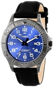 Timex Timex Male Elevated Classics Watch T2P392 Gun Metal Grey Analog