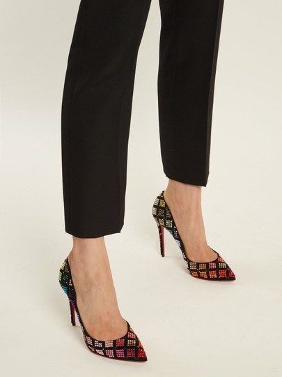 Christian Louboutin Stiletto Arletta Pigalle Strass Crystal black Pumps Image 4