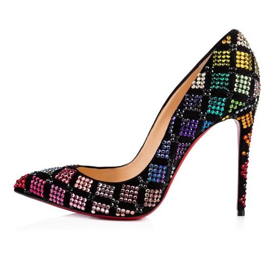 Christian Louboutin Stiletto Arletta Pigalle Strass Crystal black Pumps Image 7