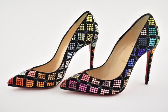 Christian Louboutin Stiletto Arletta Pigalle Strass Crystal black Pumps Image 9