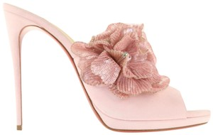 Christian Louboutin Pigalle Stiletto Classic Submuline Pink Mules