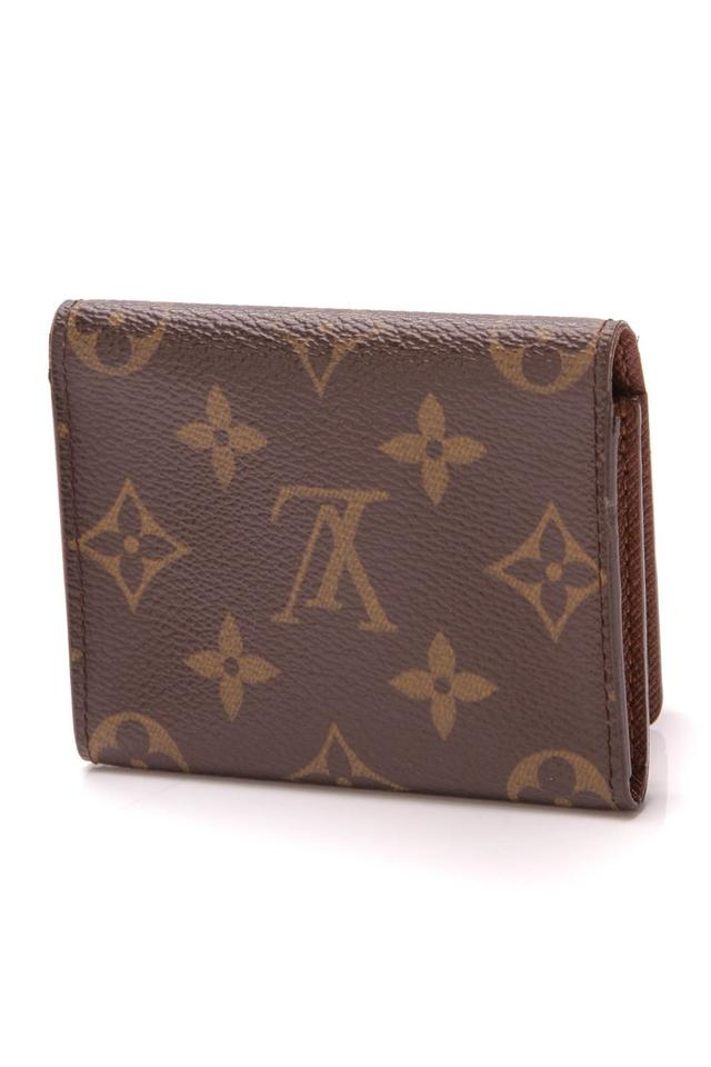 Louis Vuitton Brown Business Card Holder Monogram Wallet Tradesy
