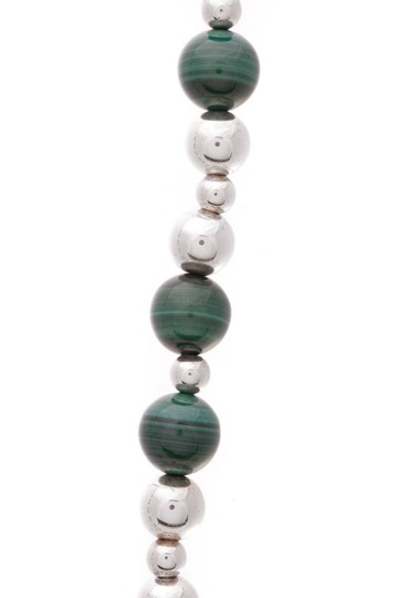 Tiffany & Co. Tiffany & Co. Malachite Bead Necklace Image 1