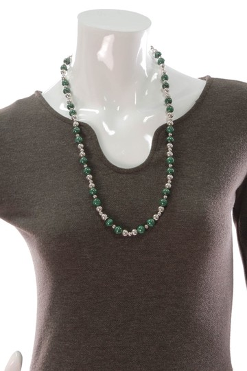 Tiffany & Co. Tiffany & Co. Malachite Bead Necklace Image 4