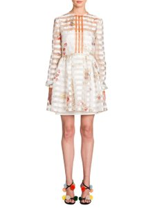 Fendi short dress Ivory on Tradesy