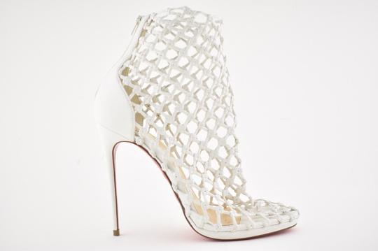 Christian Louboutin Stiletto Classic Porligat Caged Bootie white Pumps Image 1