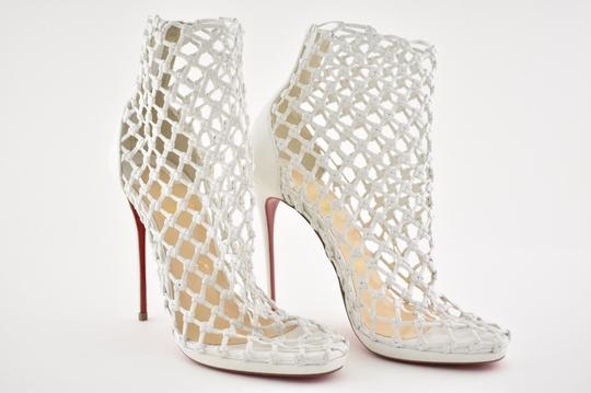 Christian Louboutin Stiletto Classic Porligat Caged Bootie white Pumps Image 3