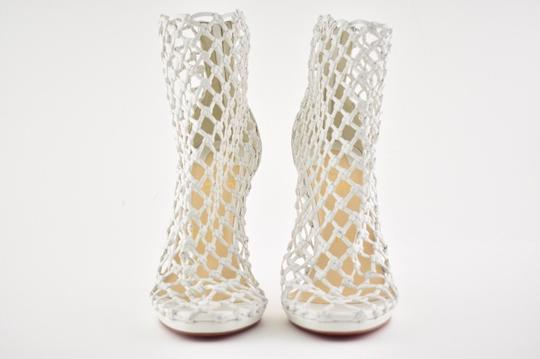 Christian Louboutin Stiletto Classic Porligat Caged Bootie white Pumps Image 4