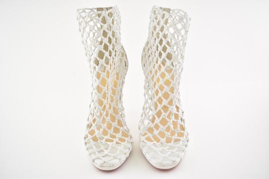 Christian Louboutin Stiletto Classic Porligat Caged Bootie white Pumps Image 5