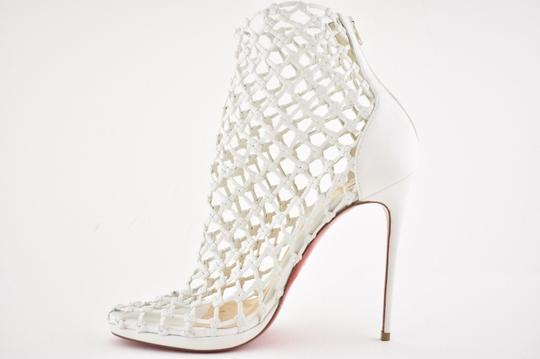 Christian Louboutin Stiletto Classic Porligat Caged Bootie white Pumps Image 7