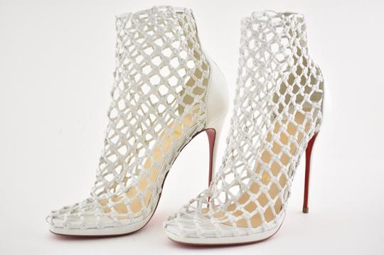 Christian Louboutin Stiletto Classic Porligat Caged Bootie white Pumps Image 8