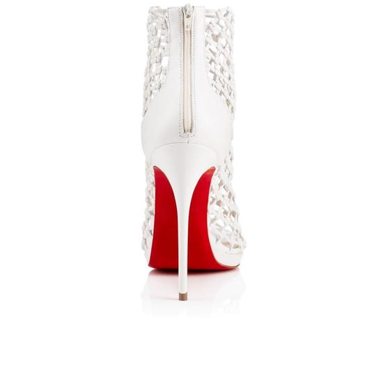 Christian Louboutin Stiletto Classic Porligat Caged Bootie white Pumps Image 9