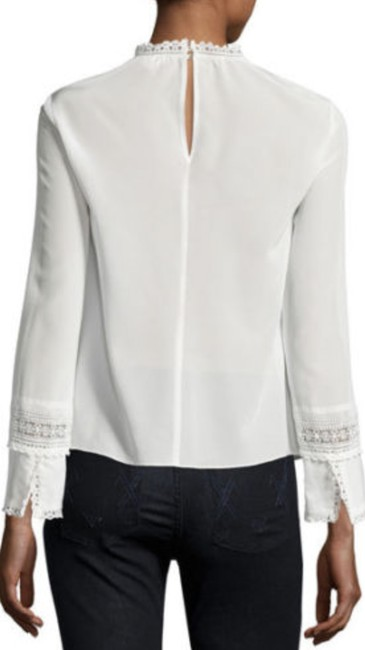 Rebecca Taylor Top Ivory Image 2