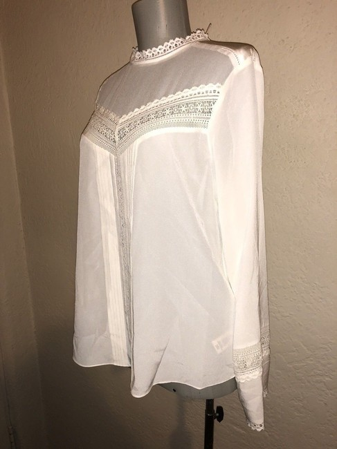 Rebecca Taylor Top Ivory Image 6