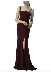 Amsale Ruby Crepe Bray Formal Bridesmaid/Mob Dress Size 2 (XS)