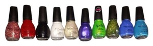 Sinful Sinful Colors Nail Polish Lot Of 10