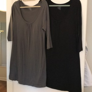 Old Navy short dress black and grey on Tradesy