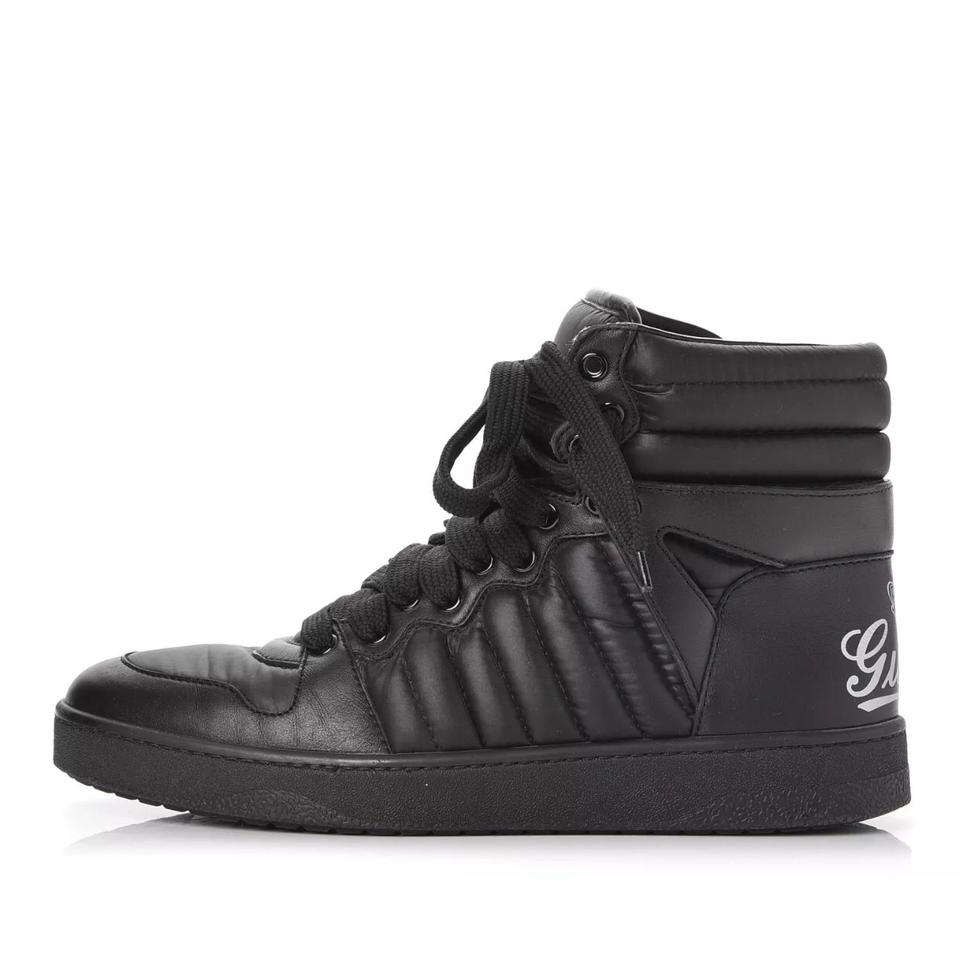 b2d7a69cb Gucci Hudson Men's Leather High Top Sneakers Size US 9.5 Regular (M ...