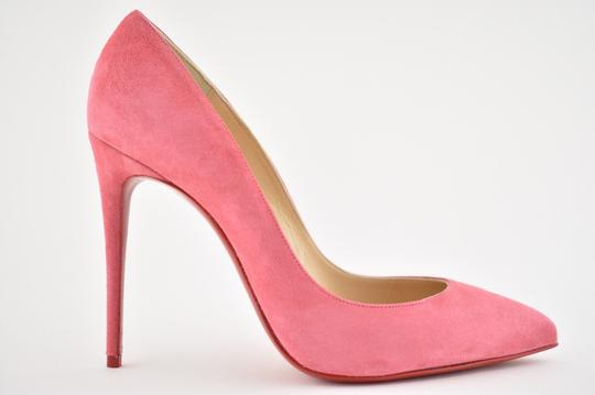 Christian Louboutin Pigalle Stiletto Follies Classic Suede pink Pumps Image 1