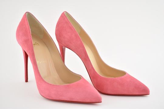 Christian Louboutin Pigalle Stiletto Follies Classic Suede pink Pumps Image 3