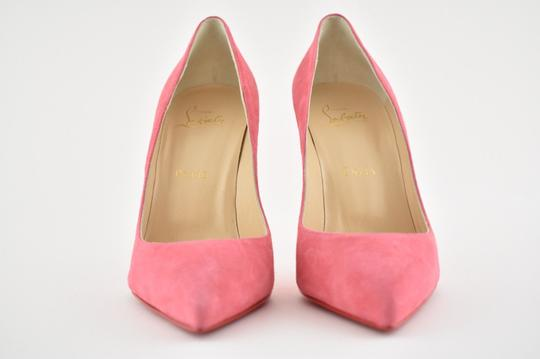 Christian Louboutin Pigalle Stiletto Follies Classic Suede pink Pumps Image 4