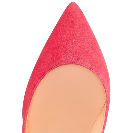 Christian Louboutin Pigalle Stiletto Follies Classic Suede pink Pumps Image 5