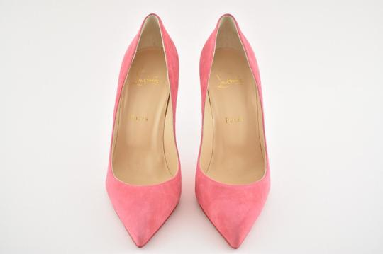 Christian Louboutin Pigalle Stiletto Follies Classic Suede pink Pumps Image 6