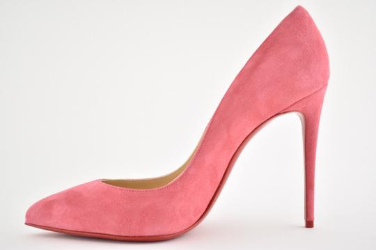 Christian Louboutin Pigalle Stiletto Follies Classic Suede pink Pumps Image 7
