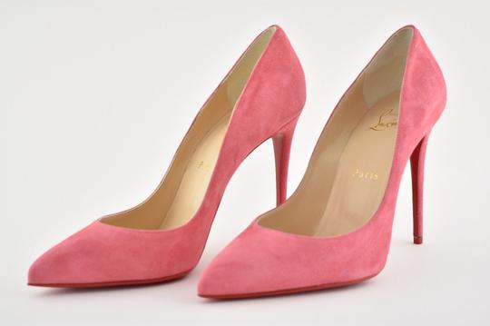 Christian Louboutin Pigalle Stiletto Follies Classic Suede pink Pumps Image 8