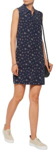 Equipment short dress NAVY on Tradesy